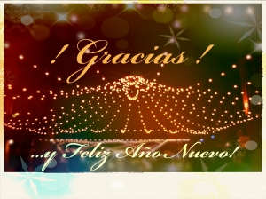 Gracias Happy New Year