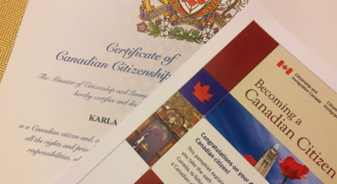 canadian citizenship - ceremonia de ciudadania canadiense