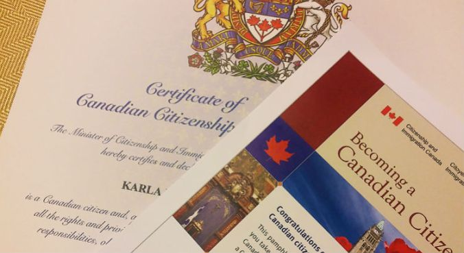 Test de ciudadania canadiense